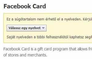 A Facebookot angol nyelvtudás nélkül nehéz használni…